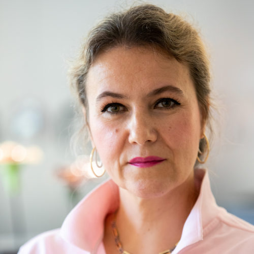 Cellie Giordano, preventieassistente de schans tandartsen